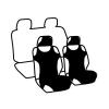 Чехлы-маечки на передние сиденья